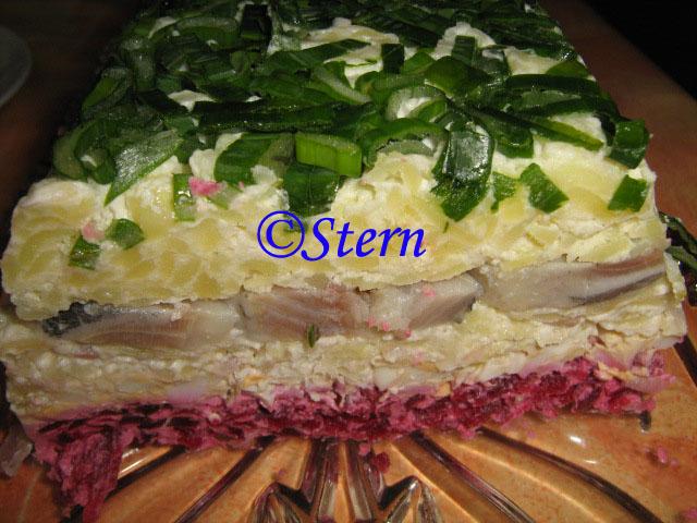 Закусочный торт из готовых коржей рецепт