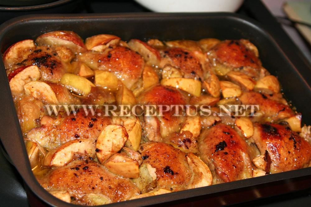 рецепты целиковой курицы в духовке с фото