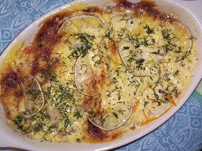 филе трески с картошкой в мультиварке рецепты