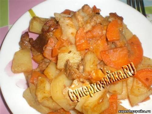 рецепт гречки с окорочками в духовке рецепт с фото