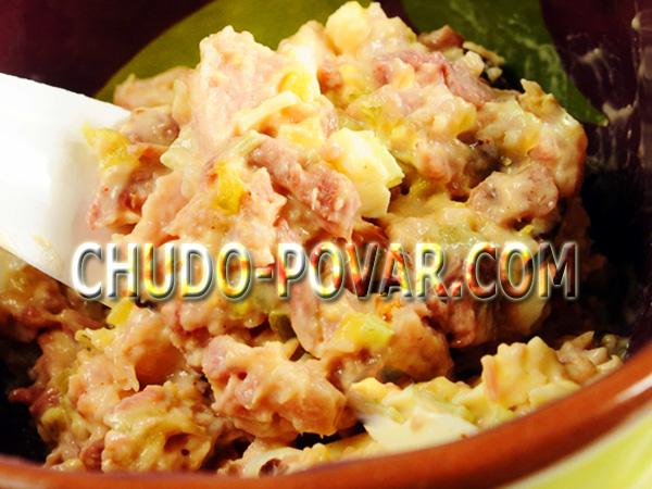 Рецепты салата из рыбной консервы с фото