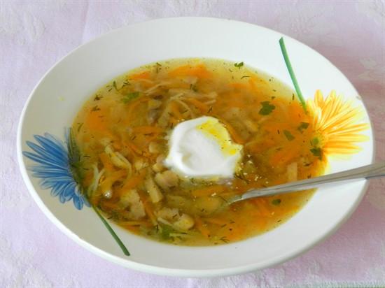 Суп из шампиньонов в мультиварке рецепты с фото