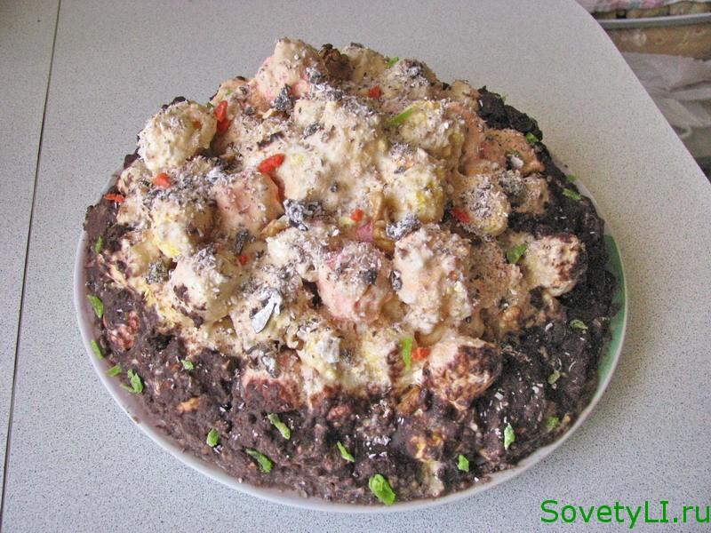 Торт Наполеон домашний рецепт с заварным кремом