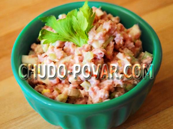 вкусный салат на быструю руку рецепт с фото