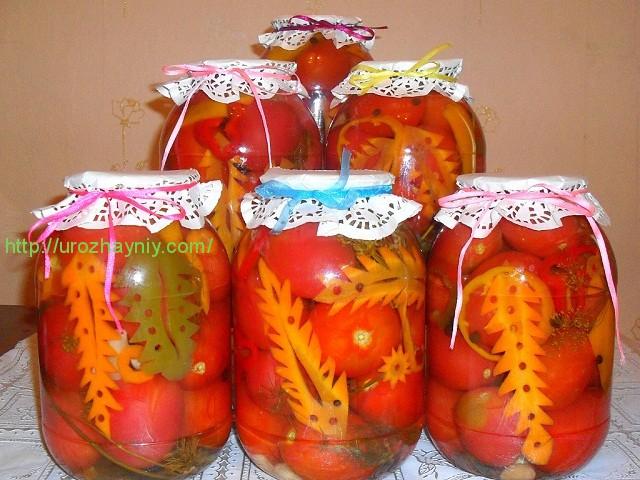 Заготовки из помидор на зиму с фото