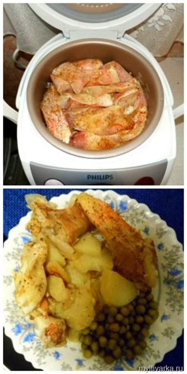 рецепт фрикаделек с картошкой в мультиварке