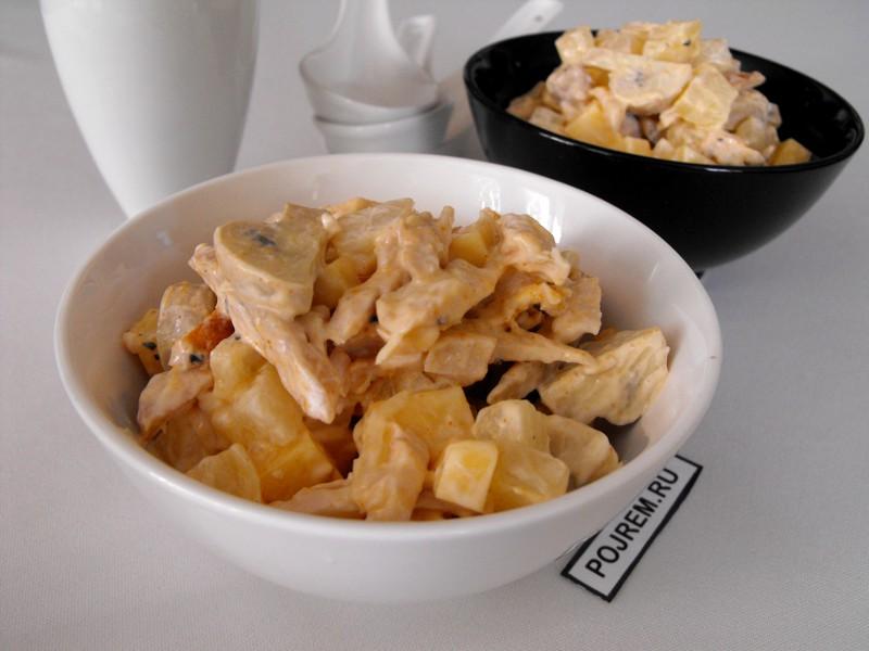 рецепты с ананасом консервированным