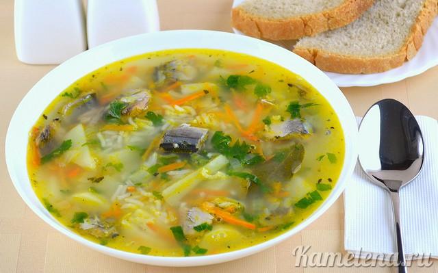 Рецепты рыбных супов с кефалью