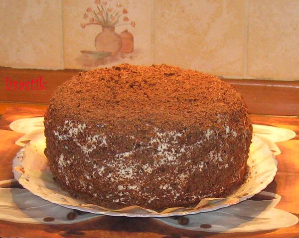 Рецепты бисквитных тортовс фото