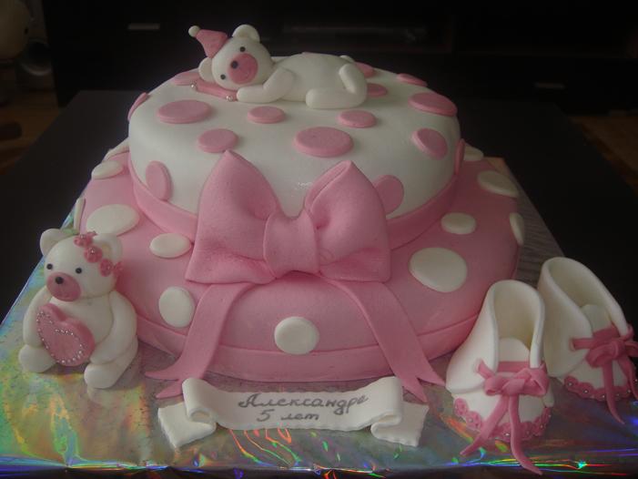 Торт из мастики для девочки 6 лет своими руками
