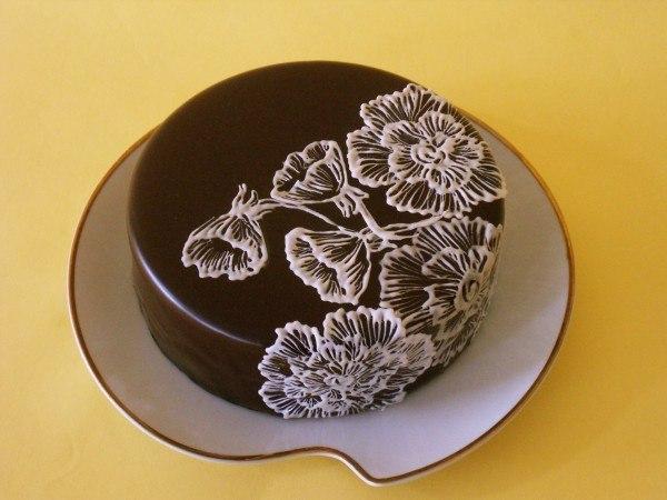 украшение торта рецепты с фото