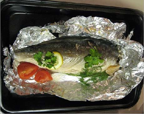 рецепт филе красной рыбой в духовке