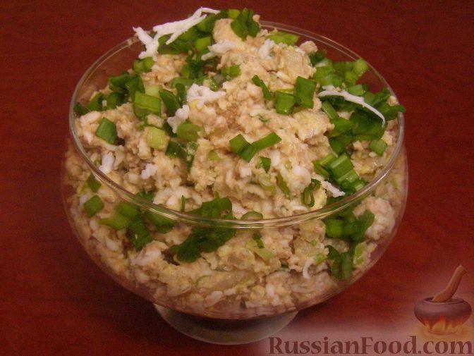 рецепты из салата печени