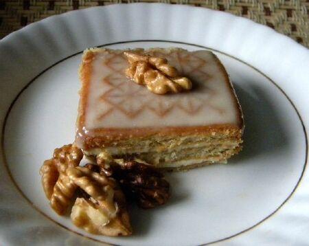 рецепт с фото торт из печенья
