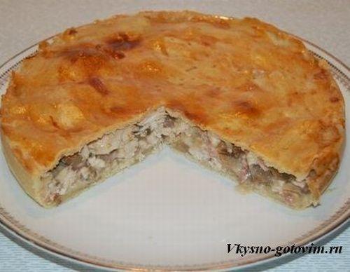 найти рецепт приготовления картофельного пирога