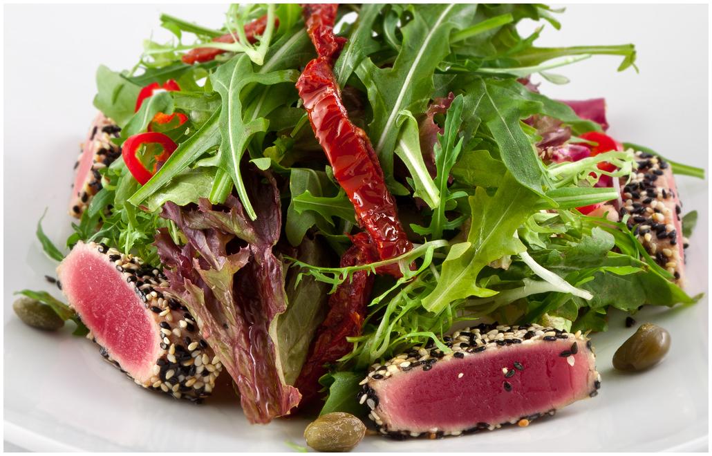 рецепт салата из тунца по дюкану
