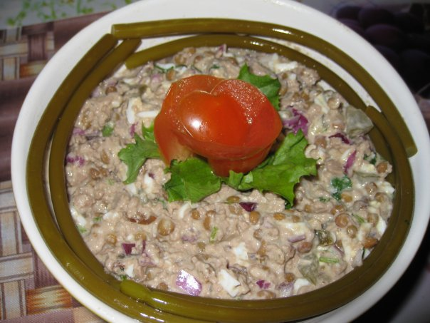 салат из минтая с грибами рецепты