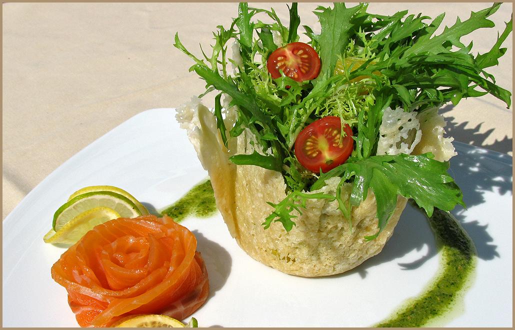 Рецепты ресторанных салатов