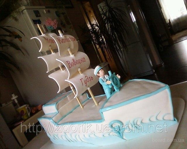 торт на 2 годика мальчику рецепты