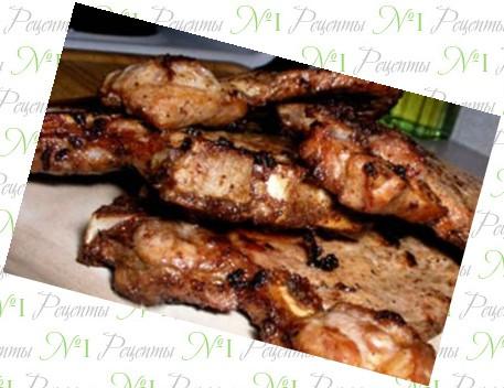 Вкусные рецепты отбивных из свинины в духовке