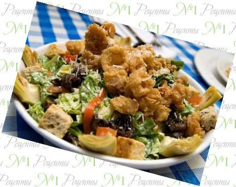 Рецепт салата на английском языке с