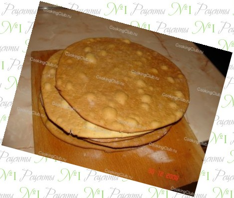 Рецепт торта из коржей с бананом с фото