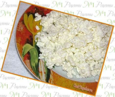 рецепт приготовления домашнего творога из кислого молока