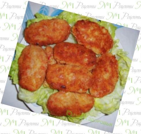 рыбные котлеты из форели рецепт с фото