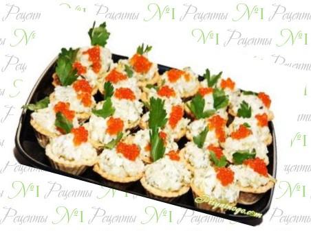 новые салаты в тарталетках рецепты с фото