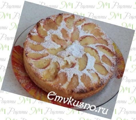 Пирог без миксера рецепт фото