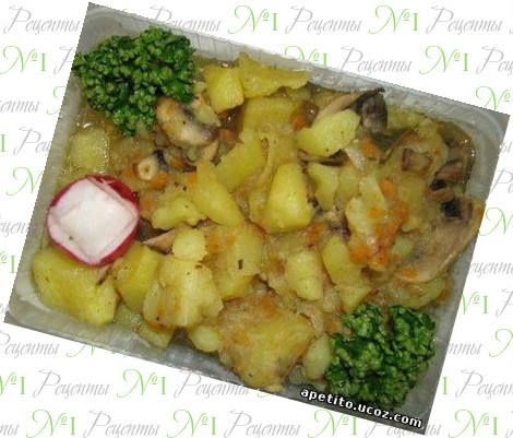 Блюда из мяса и картофеля на скорую руку рецепты 107