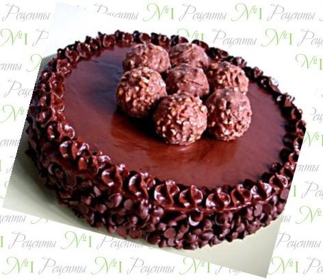 Шоколадный торт рецепт как украсить