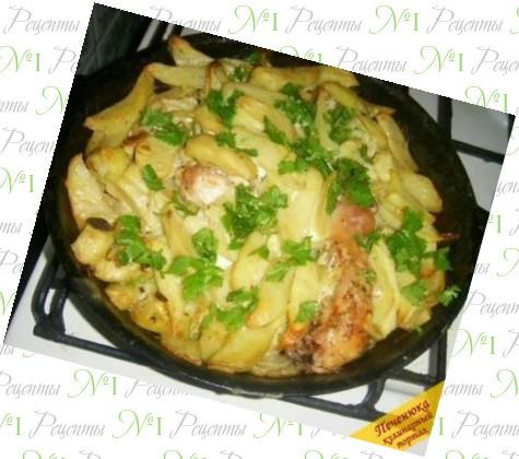 беби картофель в духовке рецепты
