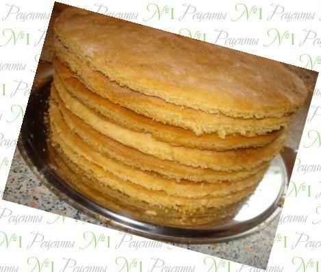 Коржи для торта покупные рецепт с пошагово