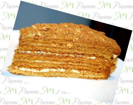 Медовый торт, рецепт