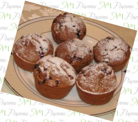 рецепты приготовления кексов с фото