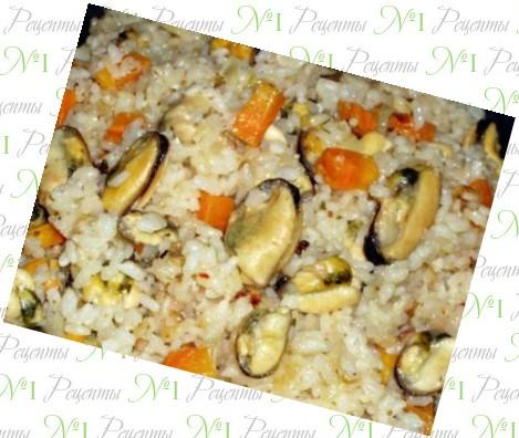Рецепт рис с вермишелью