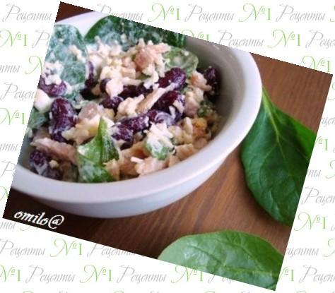 салат из фасоли и ветчиной рецепты с фото