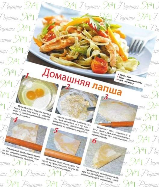 рецепты домашней лапши с бараниной