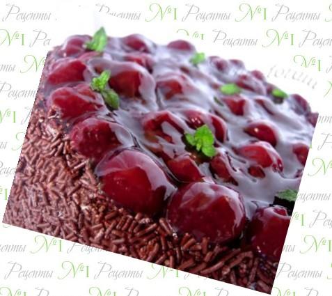 рецепты торт с вишней с фото