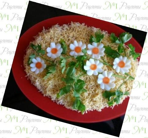 рецепты с украсить салат