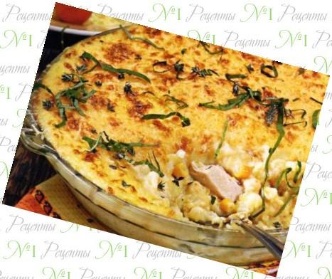 Вкусный легкий пирог в духовке рецепт с фото