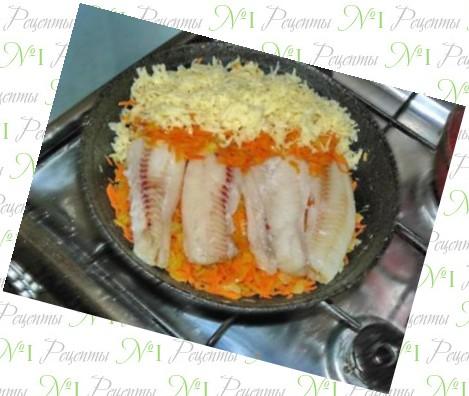 пикша рецепты приготовления с луком и морковкой