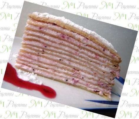 торт пенек с грибами рецепт с фото