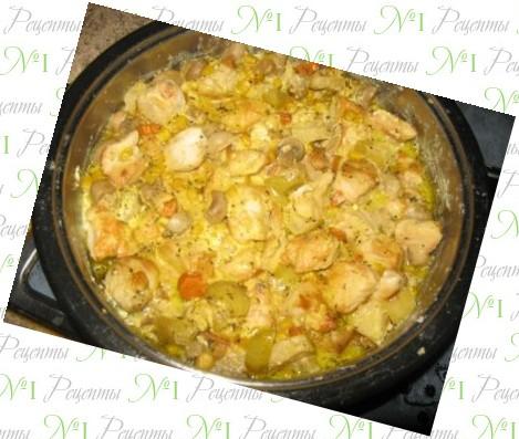 Вкусный рецепт минтая в сметанном соусе