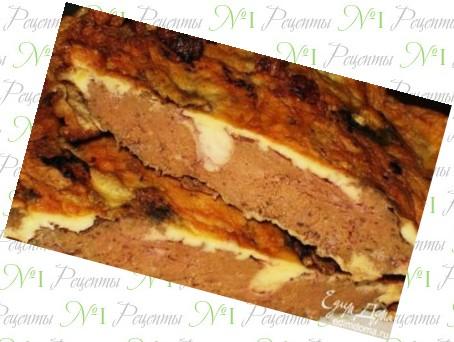 Блюдо из шампиньонов и картофеля в духовке