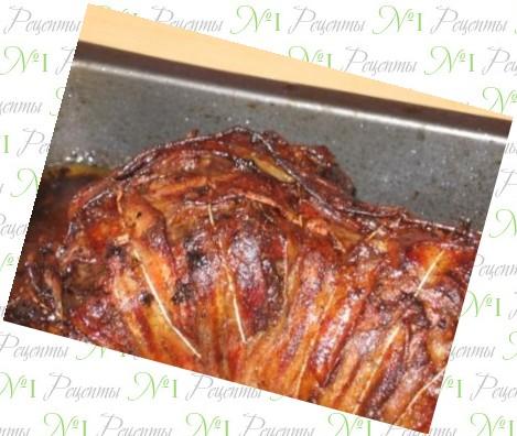 рецепт говядины запеченной в духовке с картошкой в