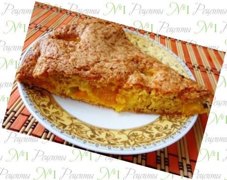 Быстрый пирог с яблоками на кефире рецепт 👌 с фото ...