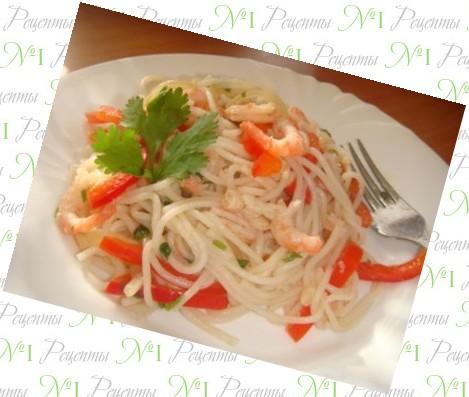 рецепты из рисовой лапши в мультиварке