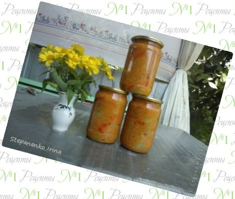 Теплый салат с баклажанами  рецепт с фото на Поварру